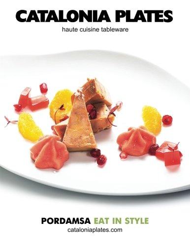 9781511792776: Catalonia Plates (spring 2015) Colorful: Haute cuisine tableware catalog