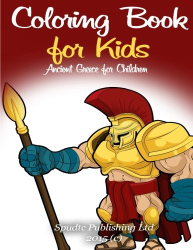 9781511800280: Coloring Book for Kids: Ancient Greece for Children