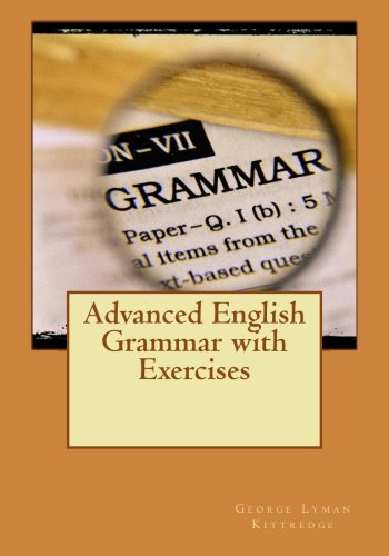9781511809368: Advanced English Grammar with Exercises