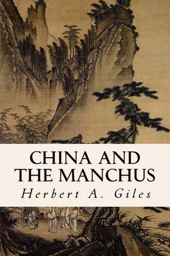 9781511809375: China and the Manchus