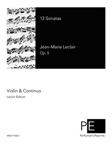 9781511819237: 12 Sonatas