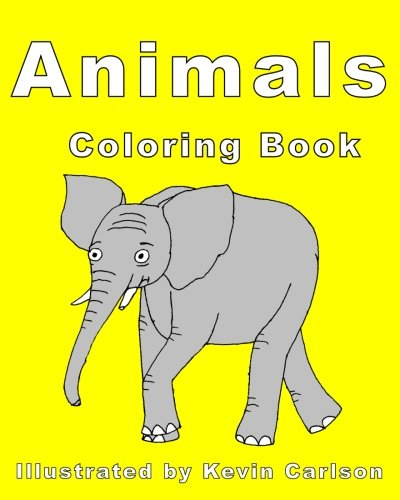 9781511839518: Animals Coloring Book