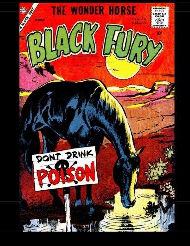 9781511840385: Black Fury #17: Black Fury The Wonder Horse 1959
