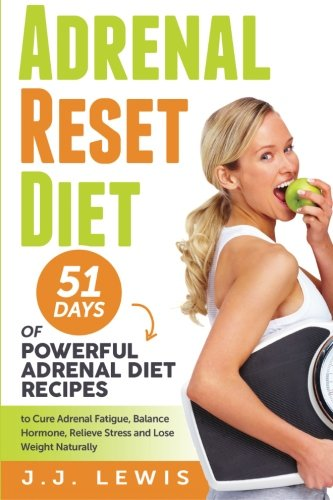 9781511843119: Adrenal Reset Diet: 51 Days of Powerful Adrenal Diet Recipes to Cure Adrenal Fatigue, Balance Hormone, Relieve Stress and Lose Weight Naturally