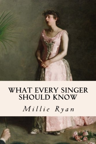 9781511874755: What Every Singer Should Know