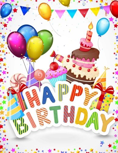 9781511876131: Happy Birthday: Celebration Memory Book