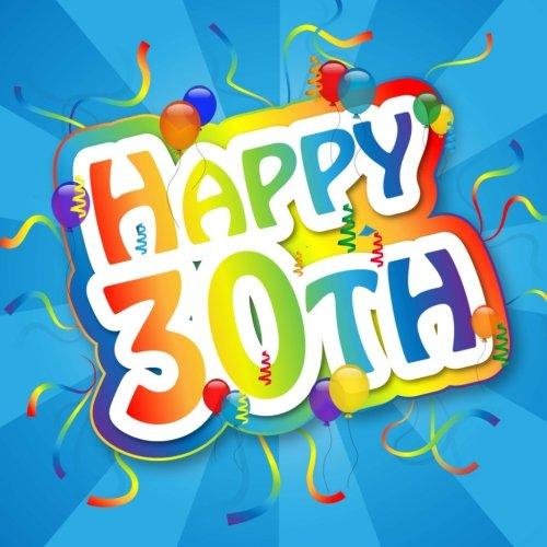 9781511876827: Happy 30th: Birthday Celebration & Guest Book