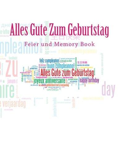 9781511887489: Alles Gute Zum Geburtstag: Feier und Memory Book
