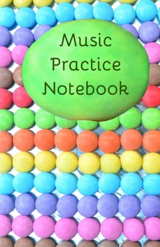 9781511890816: Music Practice Notebook: Bigger, better notebook for music lessons
