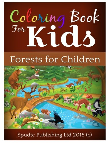 9781511892148: Coloring Book For Kids: Forests for Children