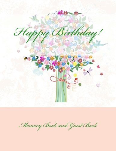 9781511896269: Happy Birthday!: Memory Book and Guest Book