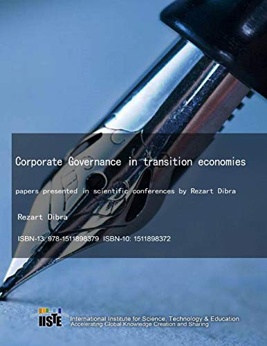 9781511898379: Corporate Governance in transition economies: papers presented in scientific conferences by Rezart Dibra