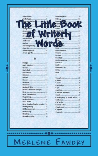9781511904803: The Little Book of Writerly Words