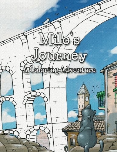 9781511905596: Milo's Journey: A Coloring / Painting book featuring the original illustrations from 'Milo & Ze'.