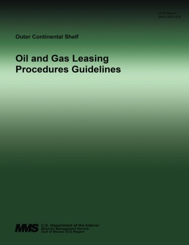 9781511917308: Oil and Gas Leasing Procedures Guidelines