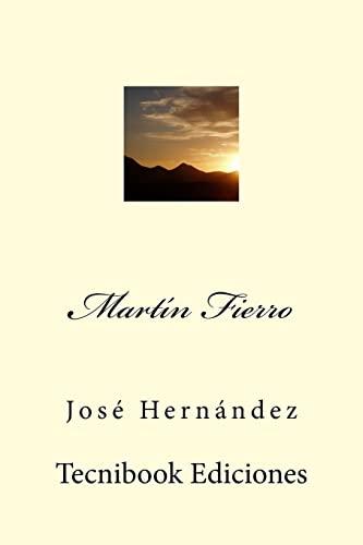 9781511924979: Martín Fierro (Spanish Edition)