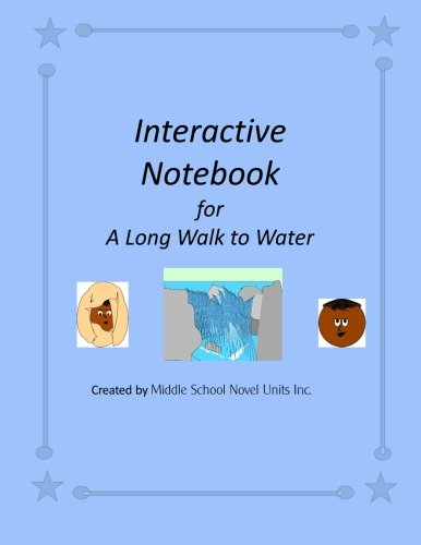 Interactive Notebook for A Long Walk to Water: Units Inc., Middle School Novel
