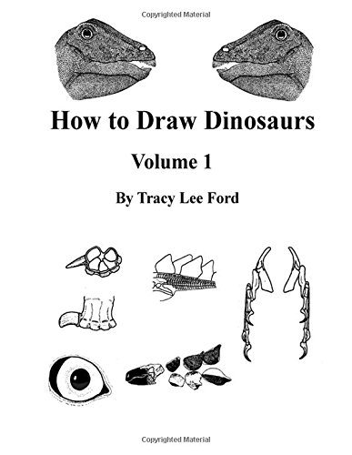 9781511934824: How to Draw Dinosaurs volume 1: This book is unlike other how to draw books. It is not about circles and lines, it is about their anatomy and the ... Times, and one from Dinosaur World.