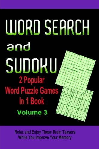 9781511934985: Word Search and Sudoku Volume 3: 2 Popular Puzzle Games in 1 Book