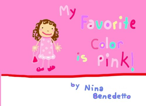 9781511957595: My Favorite Color is Pink