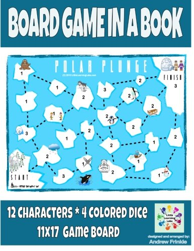 9781511961059: Board Game in a Book - Polar Plunge (Volume 3)