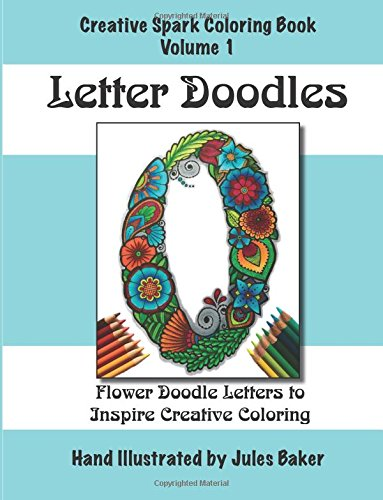 9781511961448: Creative Spark Coloring Book: Letter Doodles (Creative Spark Coloring Books) (Volume 1)