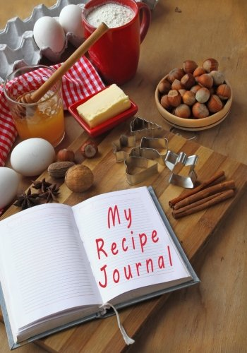 9781511963039: My Recipe Journal: Blank Cookbook, 7 x 10, 111 Pages