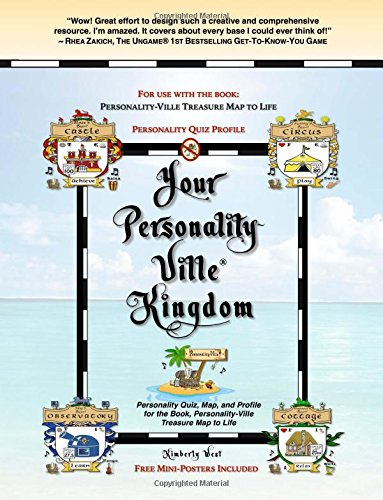 9781511968553: Your Personality-Ville Kingdom: Personality Quiz, Map, and Profile for the Book, Personality-Ville Treasure Map to Life: Volume 2 (Club Personality-Ville)