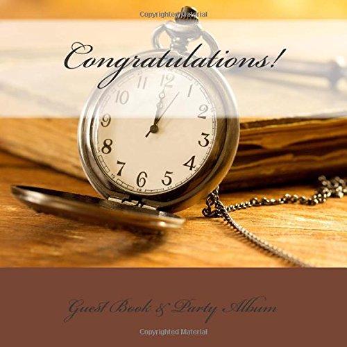 9781511968911: Congratulations!: Guest Book & Party Album