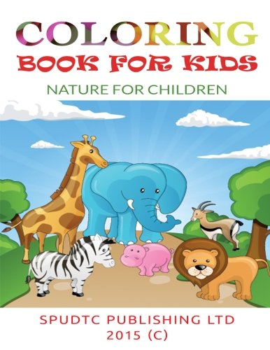 9781511976190: Coloring Book For Kids: Nature for Children