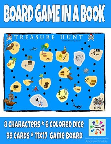 9781511980210: Board Game in a Book - Treasure Hunt (Volume 4)