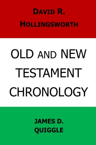 9781512014204: Old and New Testament Chronology