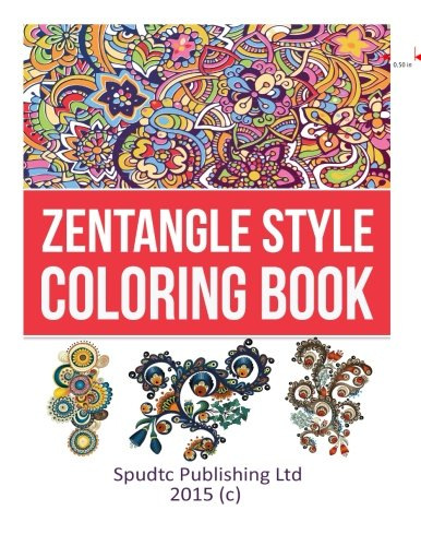 9781512017069: Zentangle Style Coloring Book