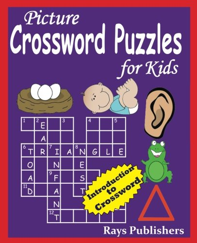 9781512025750: Picture Crossword Puzzles for Kids (Volume 1)