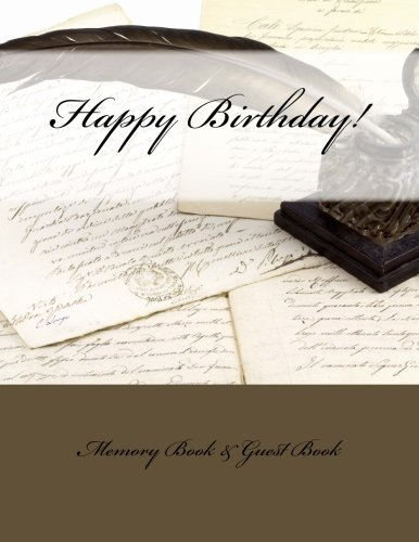 9781512047592: Happy Birthday!: Memory Book & Guest Book