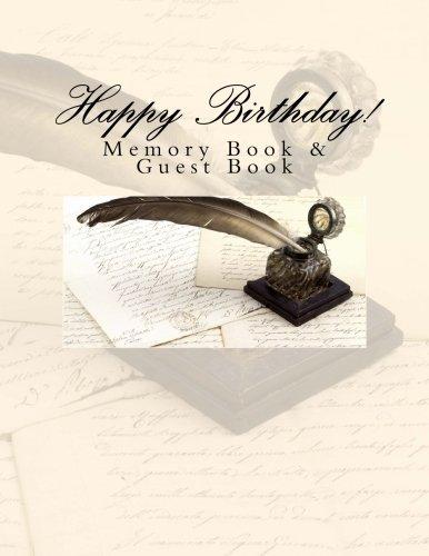 9781512047615: Happy Birthday!: Memory Book & Guest Book