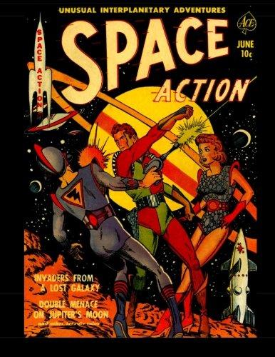9781512048100: Space Action #1: 1952 Science Fiction Comic