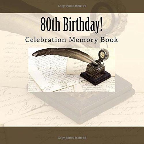 9781512057300: 80th Birthday!: Celebration Memory Book