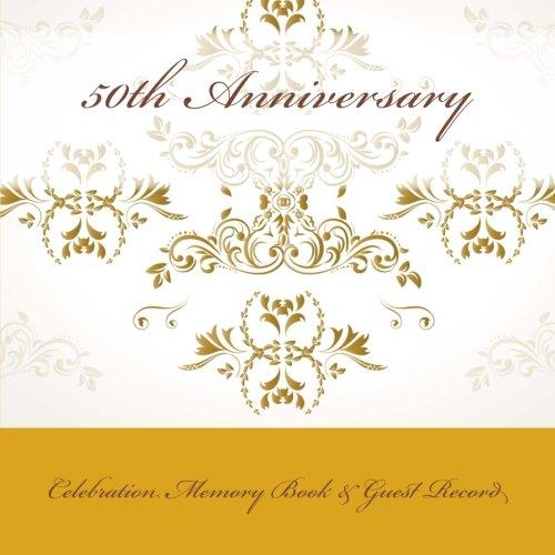 9781512061246: 50th Anniversary: Celebration Memory Book & Guest Record