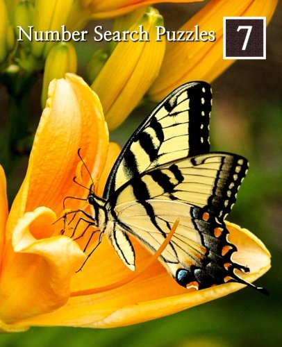 9781512063011: Number Search Puzzles 7: 100 Elegant Puzzles in Large Print: Volume 7