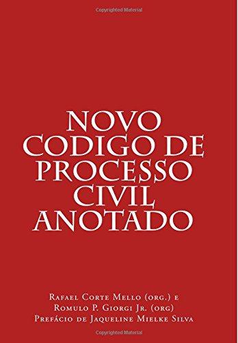 Novo Codigo de Processo Civil Anotado (Portuguese: Aline Woltz Gueno;