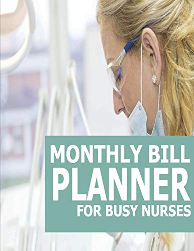 9781512070262: Monthly Bill Planner For Nurses