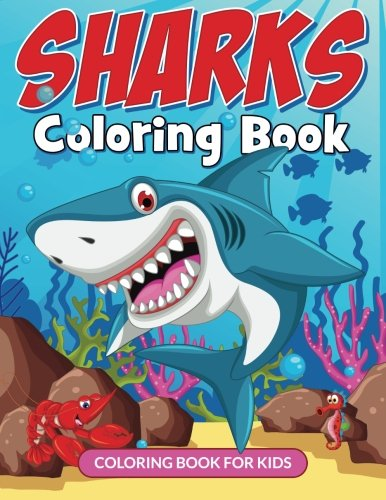 Sharks Coloring Book (Avon Coloring Books): Coloring Book for Kids (Sharks Coloring Books For kids)...