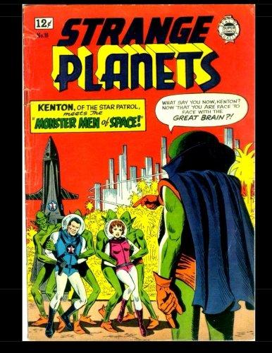 9781512085167: Strange Planets #16: Science Fiction Comic 1964