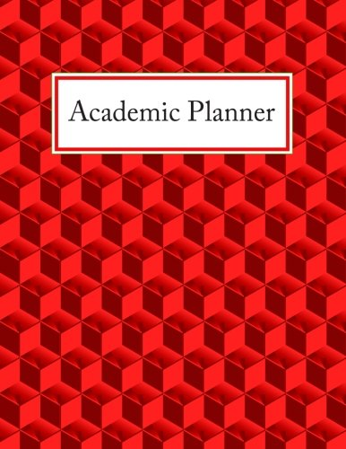 9781512090246: Academic Planner: Start Your Road To Academic Success! (Red Cubes)
