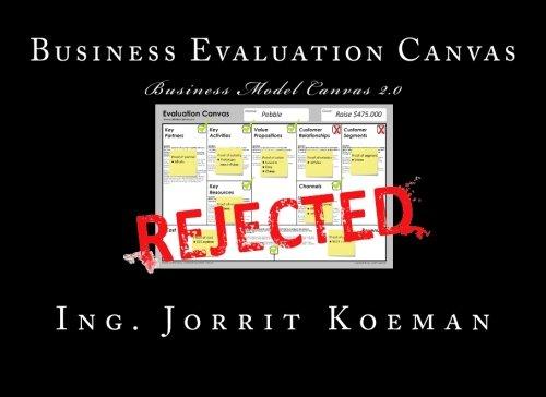 9781512091229: Business Evaluation Canvas: Business Model Canvas 2.0
