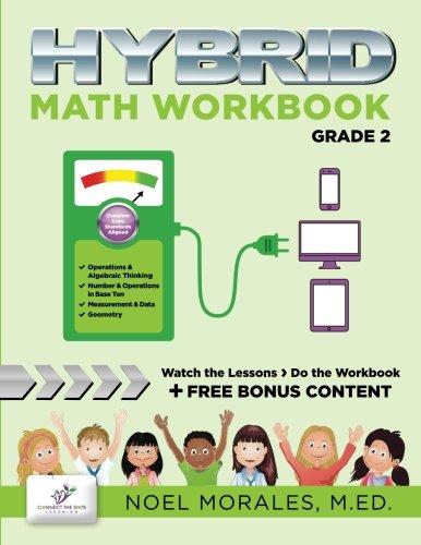 9781512098402: Hybrid Math Workbook Grade 2