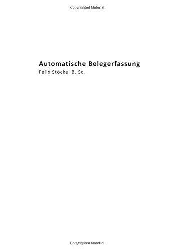 9781512130720: Automatische Belegerfassung: - Mein Buch -