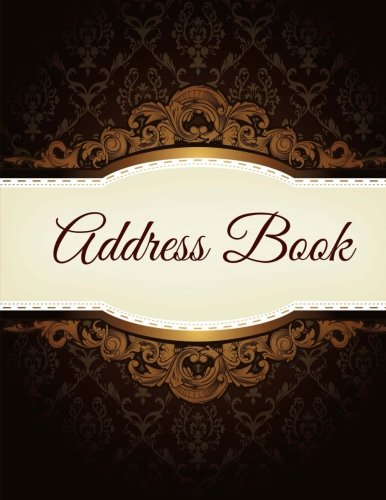 9781512132151: Address Book (Beautiful and Simple Address Books-Extra Large) (Volume 38)
