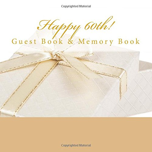 9781512133677: Happy 60th!: Guest Book & Memory Book with Photo Pages